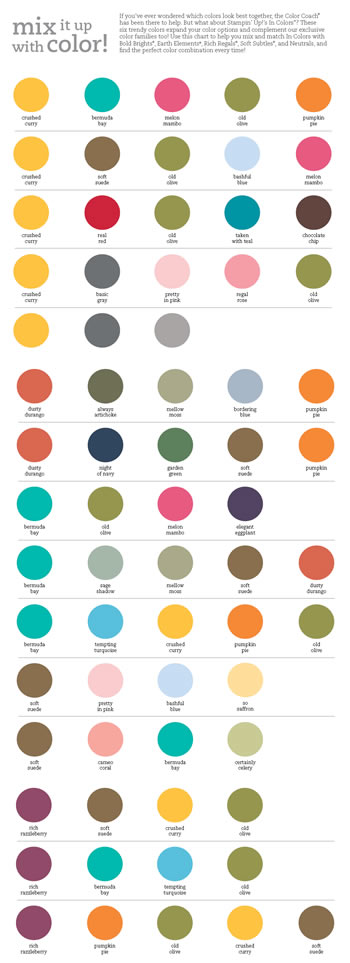 Stampin Up Color Chart Aksuyq Eye