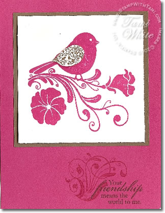 cards | Stampin Up Demonstrator - Tami White - Stamp With Tami Stampin