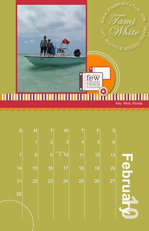 Video Calendar Using Templates Plus Printing Stampin Up