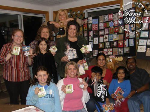 Build A Bear Workshop Viewing Party Pics Stampin Up