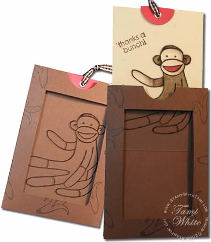 Video tutorial: sock monkey magic | stampin up demonstrator tami.