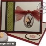 VIDEO TUTORIAL: Tealight Easel Christmas Card WOW!