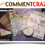 WIN! February Comment Craze Giveaway