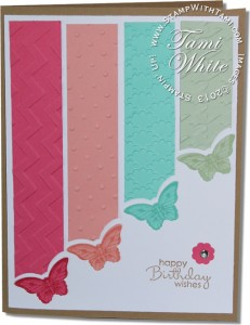 butterfly card-stampin up