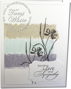 love and sympathy-painter tape-stampin up