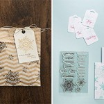 NEW:  Endless Wishes Photopolymer clear stamp set for Christmas