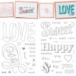 NEW: Countless Sayings Photopolymer Stamp Sets I & II