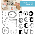 NEW: 2  Sweetie Pie Photopolymer Clear Stamp Sets