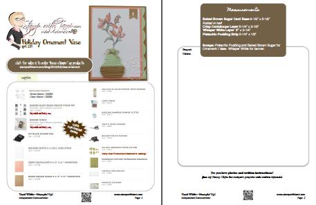 ornament vase screen