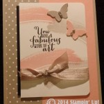 CARD: You are a fabulous Work of Art