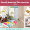 stampin up lovely amazing you stamp set
