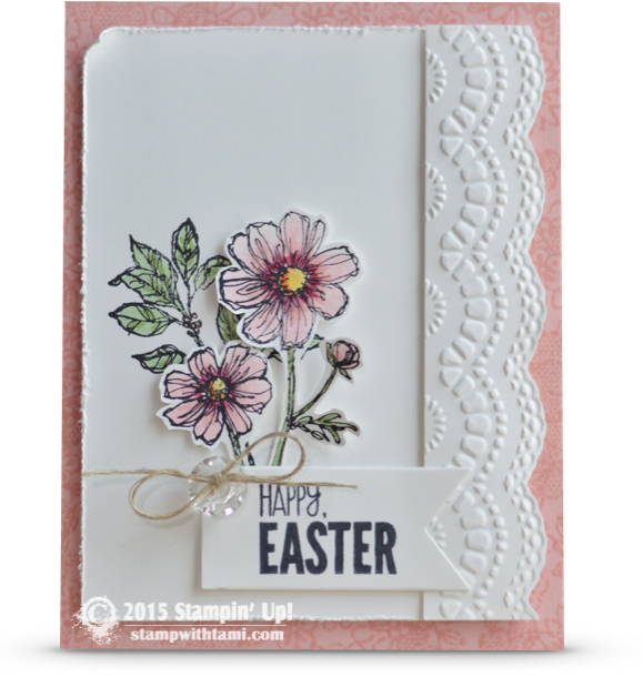 CARD Happy Easter from Bloom with Hope – Easter Cards Stampin Up