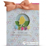 stampin up easter cheerful critters card