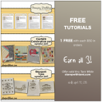 stampin up free tutorials in april