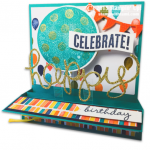 "CARD: Pop Up ""Celebrate"" Card and Tutorial"
