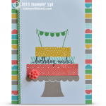 build a party stampin up