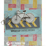 stampin up cycle celebration card