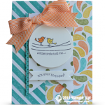 stampin up for the birds card