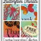 free butterflies thinlits tutorials