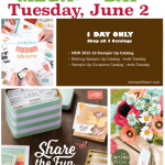 stampin up mega catalog day
