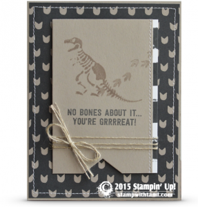 stampinup no bones stamp set card