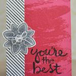 stampinup watercolor words stamp set card