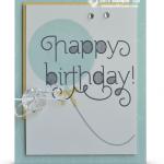 Stampin Up Age Awareness card