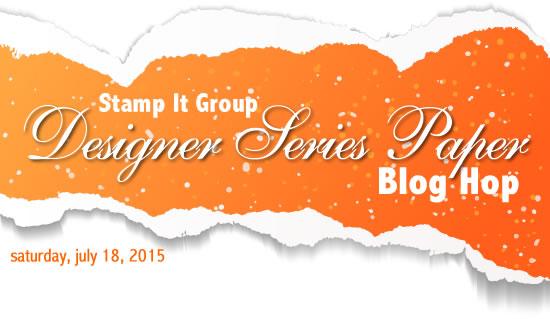 stampin up dsp blog hop-stamp it