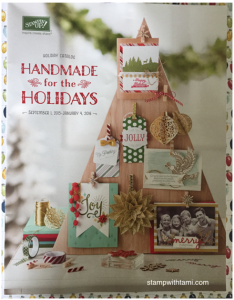 stampin up holiday catalog cover