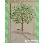 stampin up sheltering tree card stamp set