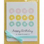 stampin up sprinkles on top stamp set card