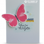 stampin up watercolor wishes kit card