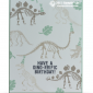stampion up no bones about it dinosaur card stamp set