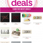 weekly deals stampin up