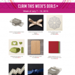 weekly specials stampin up