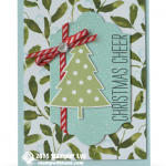 stampin up cheer all year stamp set card