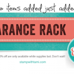 stampin-up-clearance-rack-update