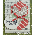 stampin up winter wishes card
