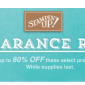 stampin up clearance rack sale