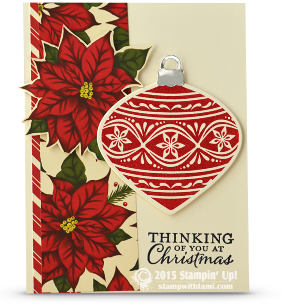 CARD: Thinking of You at Christmas | Stampin Up Demonstrator ...