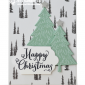 CARD: Peaceful Pines – Happy Christmas