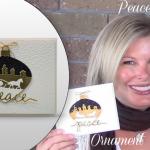 VIDEO: Peace Sleigh Ride Ornament Wow card