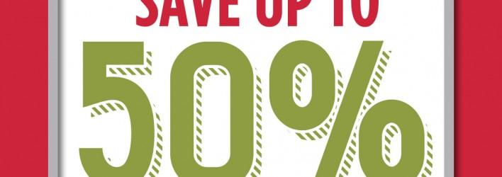SALE: 50% OFF Stampin Up Online Extravaganza begins now – ends Mon, Nov 30