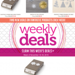 SALE: Stampin Up Weekly Specials end November 10