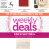 SALE: Stampin Up Weekly Specials end November 23