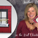 VIDEO: How to make a Brick Wall Cut Out Window Card