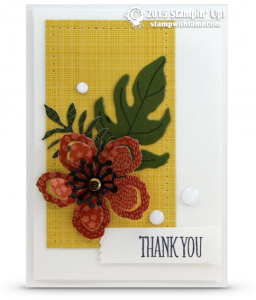 stampin up botanical gardens 3