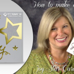 VIDEO: Joy Cross-over Holiday / New Years Star Card