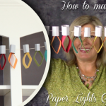 XMAS PROJECT VIDEO: How to Make Paper Lights Garland Decoration