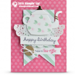 CARD: Happy Birthday Teapot from A Nice Cuppa